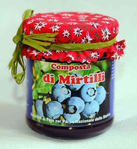 Composta di Mirtilli 220 gr